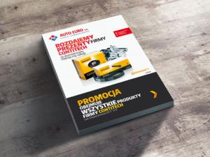 Projekt katalogu dla firmy Auto Euro